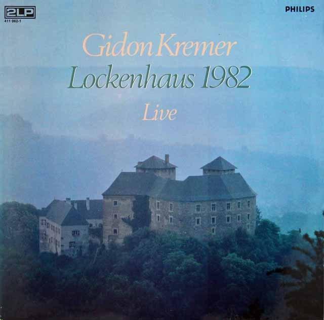 クレーメル/ロッケンハウス室内音楽祭1982 蘭PHILIPS 3281 LP レコード
