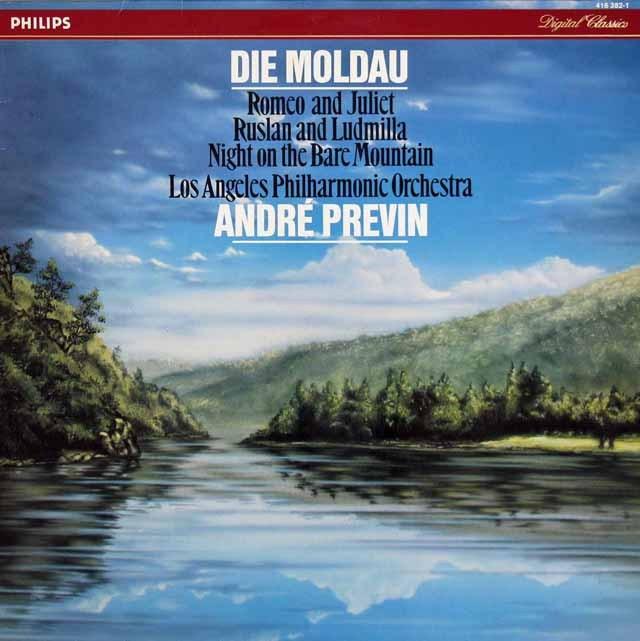 プレヴィンのスメタナ/「モルダウ」ほか 蘭PHILIPS 3281 LP レコード