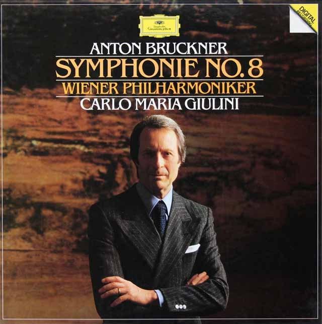 【直筆サイン入り】 ジュリーニのブルックナー/交響曲第8番 独DGG 3399 LP レコード