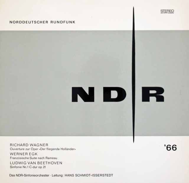 イッセルシュテットのベートーヴェン/交響曲第1番ほか 独NDR 2929 LP レコード