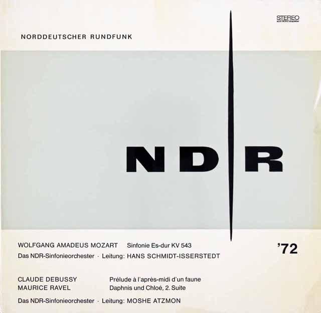 イッセルシュテットのモーツァルト/交響曲第39番ほか 独NDR 2929 LP レコード