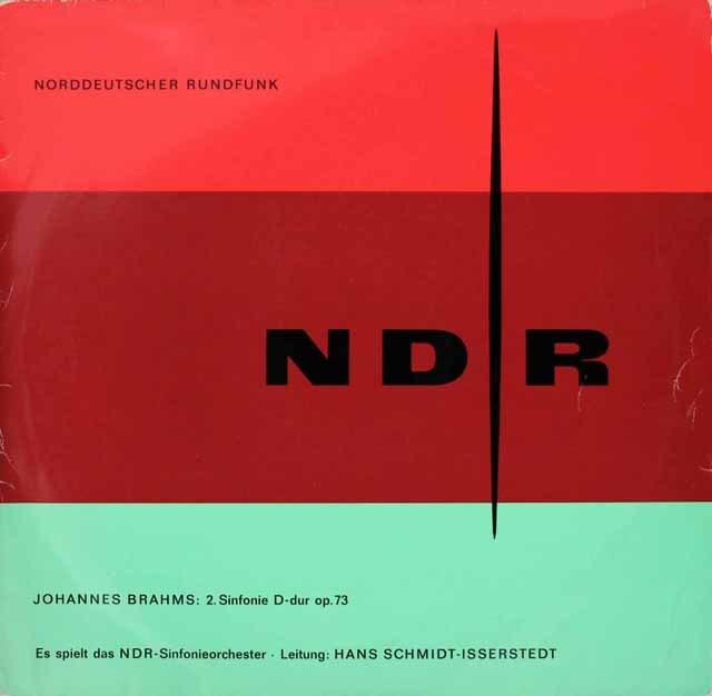 イッセルシュテットのブラームス/交響曲第2番 独NDR 2929 LP レコード