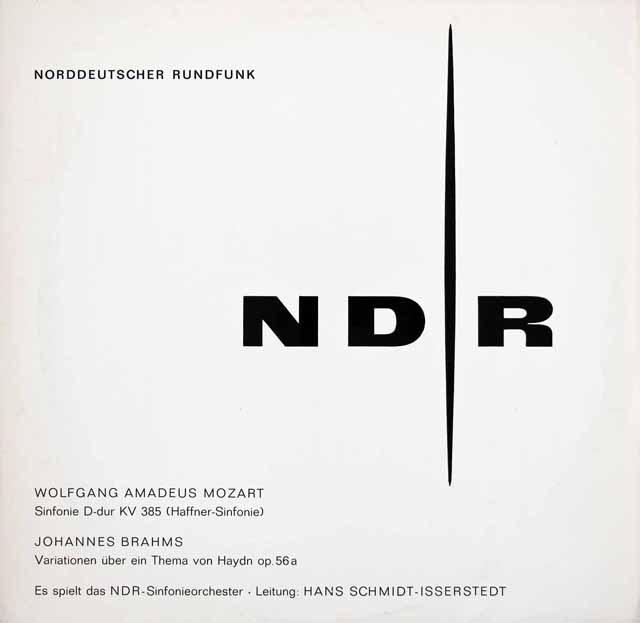 イッセルシュテットのモーツァルト/交響曲第35番「ハフナー」ほか 独NDR 2929 LP レコード