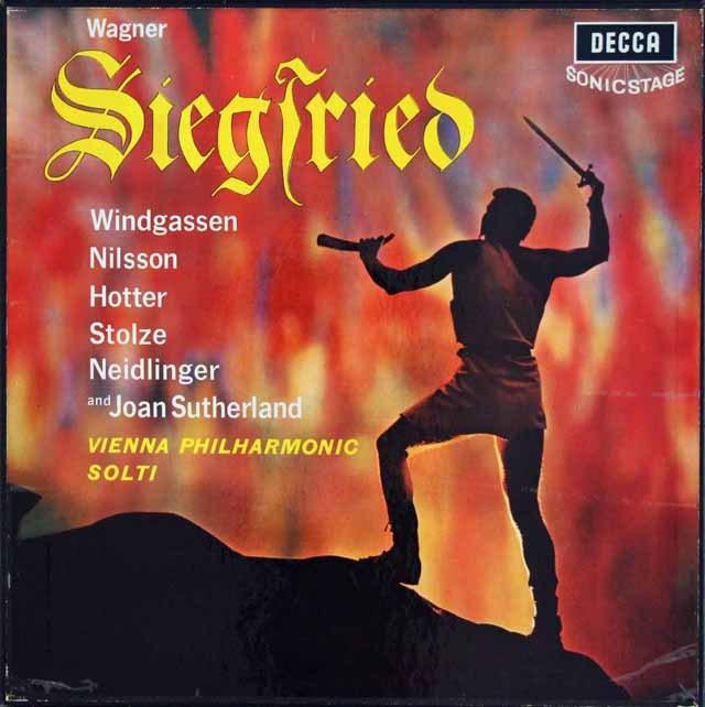 【オリジナル盤】ショルティのワーグナー/「ジークフリート」 英DECCA 2929 LP レコード