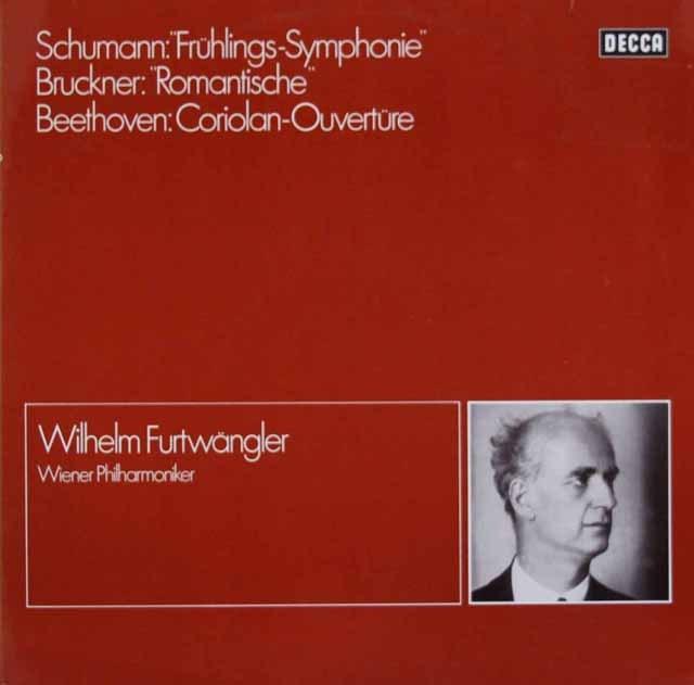 フルトヴェングラーのシューマン/交響曲第1番「春」ほか 独DECCA 2931 LP レコード