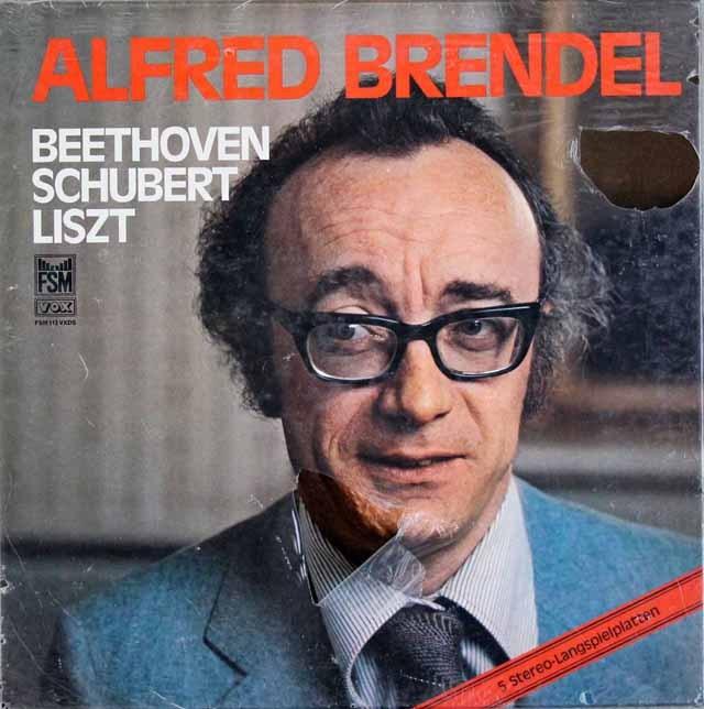 【未開封】 ブレンデルのベートーヴェン、シューベルト&リスト/ピアノソナタ集 独FSM 3399 LP レコード