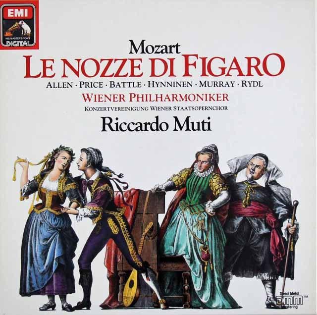 ムーティのモーツァルト/「フィガロの結婚」全曲 独EMI 2931 LP レコード