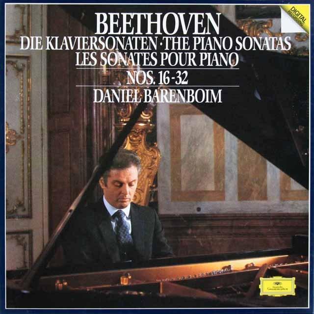 バレンボイムのベートーヴェン/ピアノソナタ第16番から第32番 独DGG 2931 LP レコード