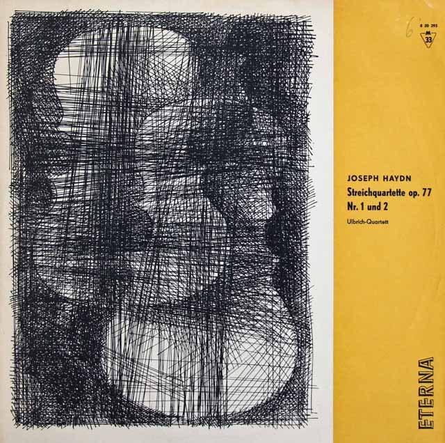 ウルブリヒ四重奏団のハイドン/弦楽四重奏曲第81&82番 独ETERNA 2933 LP レコード
