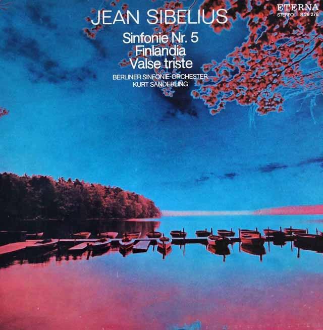 ザンデルリンクのシベリウス/交響曲第5番ほか 独ETERNA 2933 LP レコード