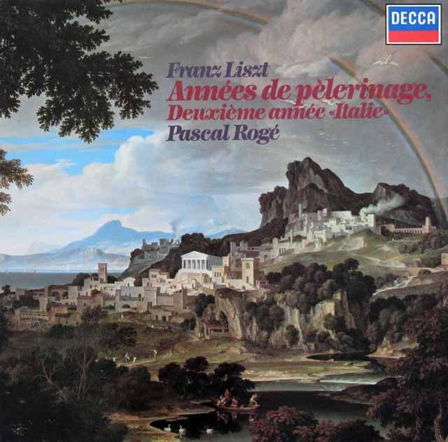 ロジェのリスト/巡礼の年「イタリア」 独DECCA 3398 LP レコード