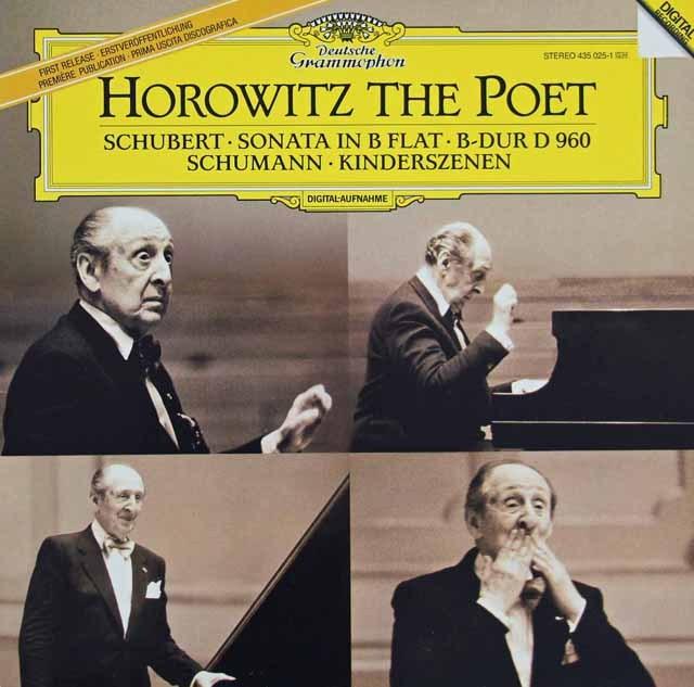 ホロヴィッツのシューベルト/ピアノソナタ第21番ほか 蘭DGG 2933 LP レコード