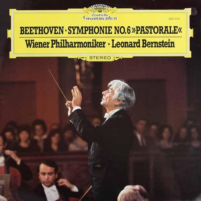 バーンスタインのベートーヴェン/交響曲第6番「田園」  独DGG 2934 LP レコード