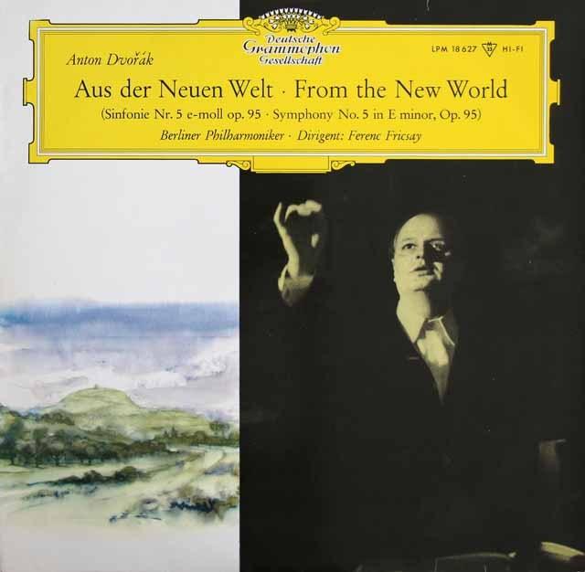 【モノラル】フリッチャイのドヴォルザーク/交響曲第9番「新世界より」  独DGG 2934 LP レコード