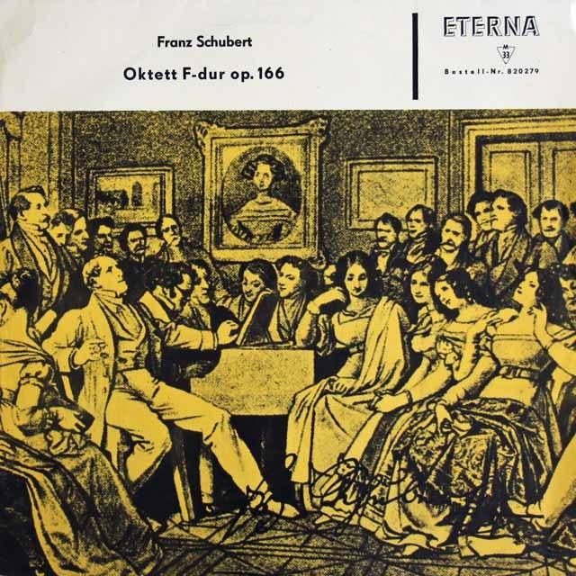 ボッセ、ズスケらのシューベルト/八重奏曲   独ETERNA 3398 LP レコード