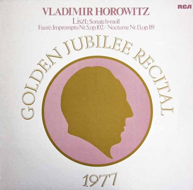 ホロヴィッツ・コンサート1977 独RCA 3398 LP レコード