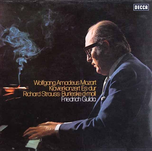 グルダのモーツァルト/ピアノ協奏曲第14番ほか 独DECCA 3398 LP レコード