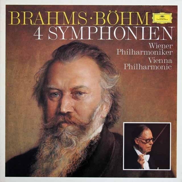 ベームのブラームス/交響曲全集    独DGG 2934 LP レコード
