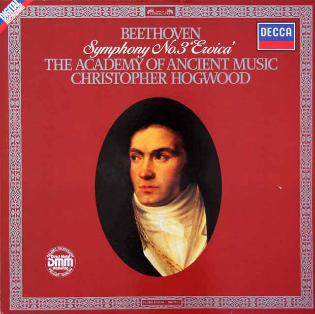 ホグウッドのベートーヴェン/交響曲第3番「英雄」    独DECCA 2936 LP レコード