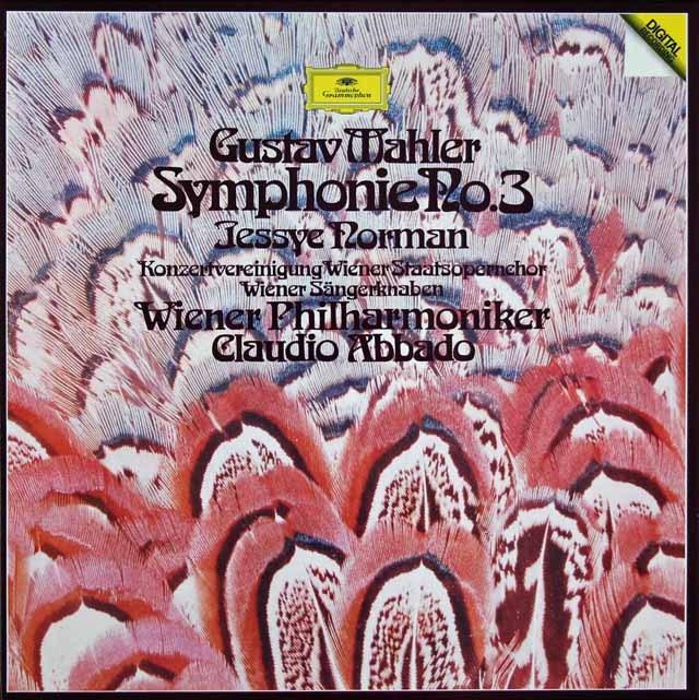 アバドのマーラー/交響曲第3番   独DGG 2936 LP レコード