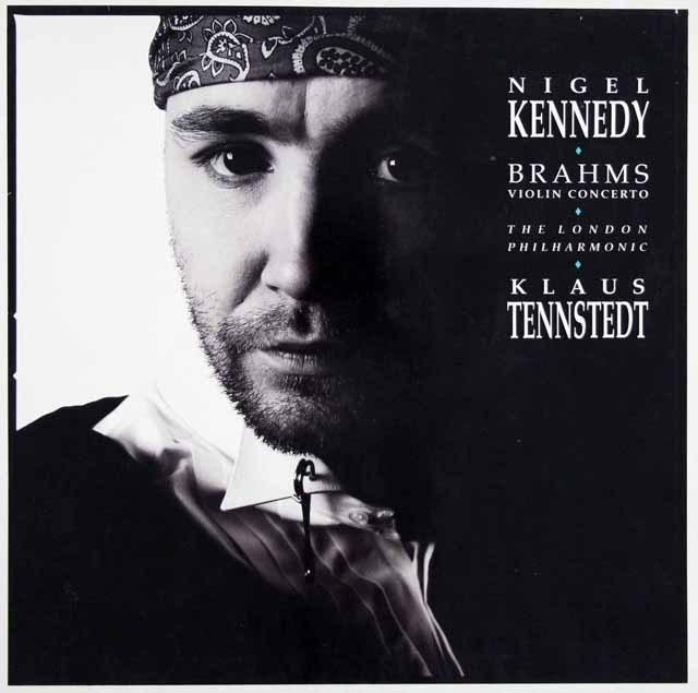 ケネディ&テンシュテットのブラームス/ヴァイオリン協奏曲  独EMI 3397 LP レコード