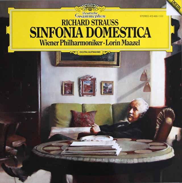 マゼールのR.シュトラウス/家庭交響曲 独DGG 3397 LP レコード