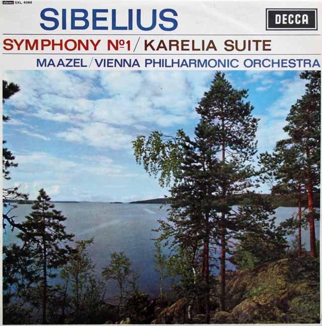 マゼールのシベリウス/交響曲第1番ほか 英DECCA 3397 LP レコード