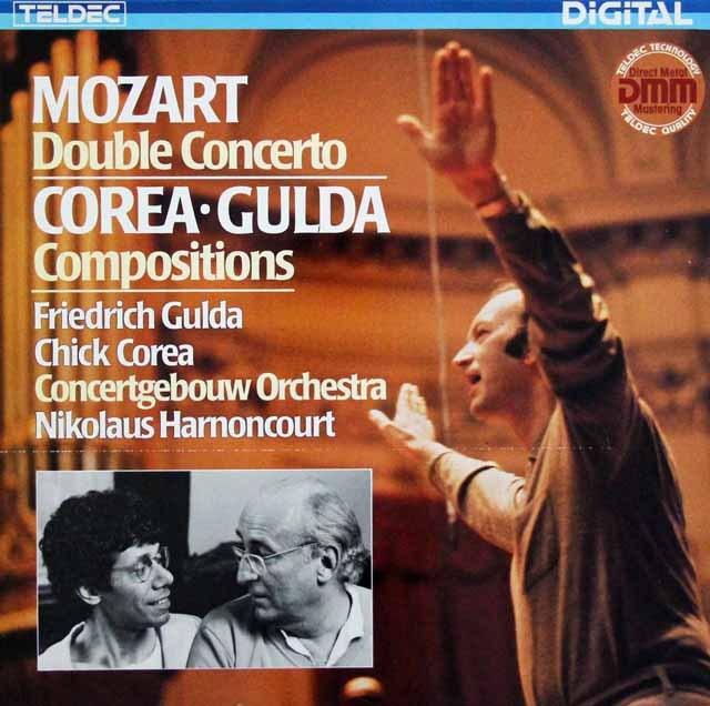 グルダ、コリア&アーノンクールらのモーツァルト/2台のピアノのための協奏曲ほか  独TELDEC 2938 LP レコード