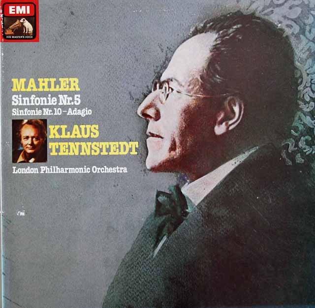 テンシュテットのマーラー/交響曲第5番ほか 独EMI 2941 LP レコード