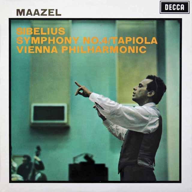 マゼールのシベリウス/交響曲第4番 英DECCA 3396 LP レコード