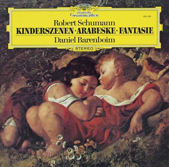 バレンボイムのシューマン/「子供の情景」ほか  独DGG 2941 LP レコード