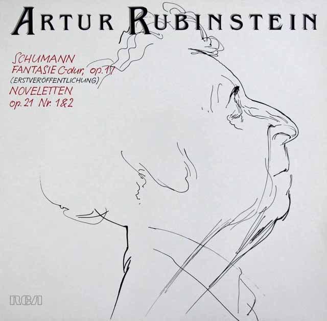ルービンシュタインのシューマン/幻想曲ほか  独RCA 2941 LP レコード