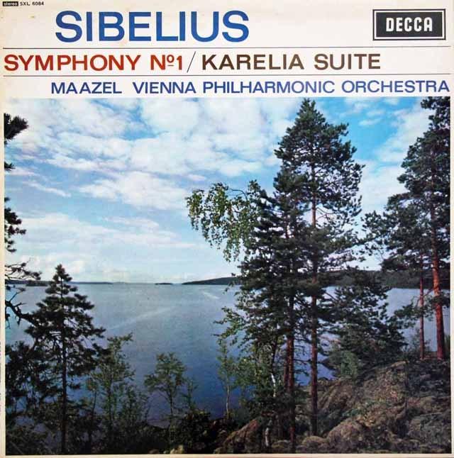 マゼールのシベリウス/交響曲第1番ほか 英DECCA 3396 LP レコード