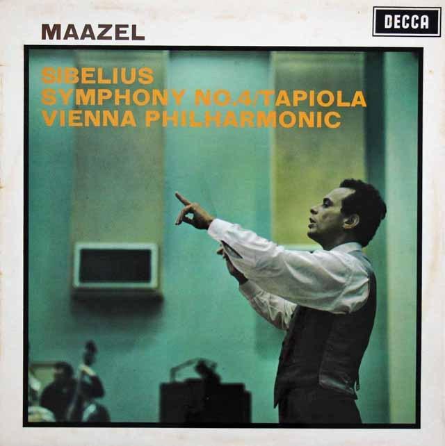 マゼールのシベリウス/交響曲第4番ほか 英DECCA 3396 LP レコード