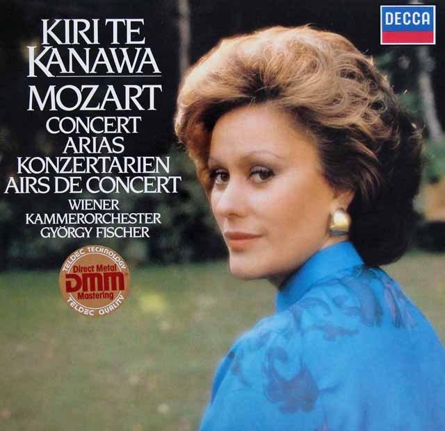 キリ・テ・カナワのモーツァルト/コンサート・アリア集  独DECCA 2942 LP レコード