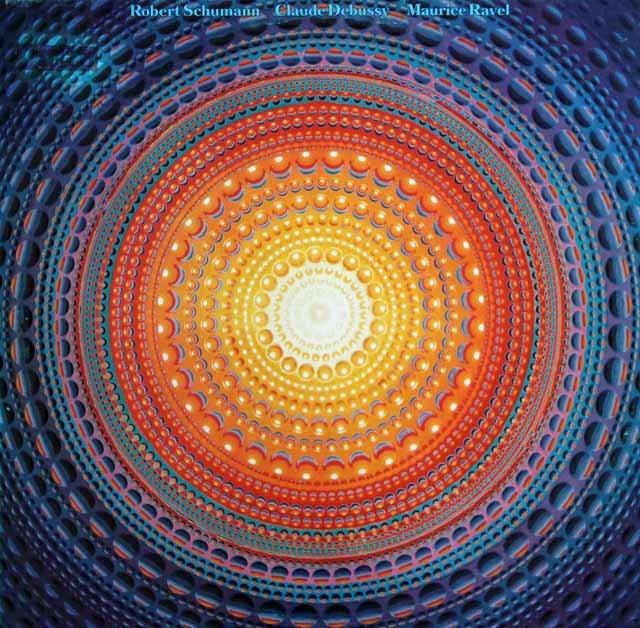 ツェンダー&ザールブリュッケン放送交響楽団のドビュッシー/「海」ほか  独SR 2942 LP レコード