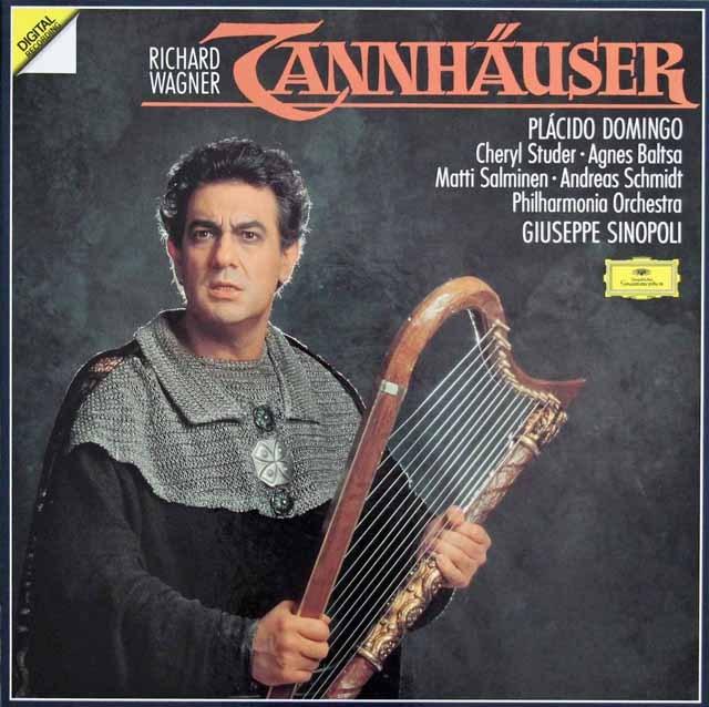 シノーポリのワーグナー/「タンホイザー」全曲  独DGG 2942 LP レコード
