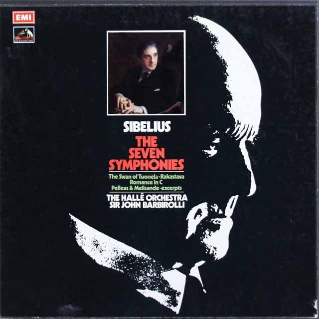 バルビローリのシベリウス/交響曲全集  英EMI 2942 LP レコード