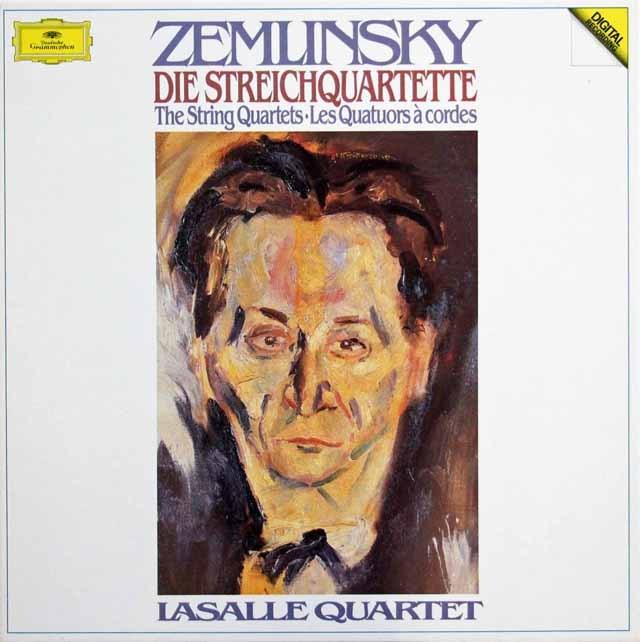 ラサール四重奏団のツェムリンスキー/弦楽四重奏曲全集 独DGG 3396 LP レコード