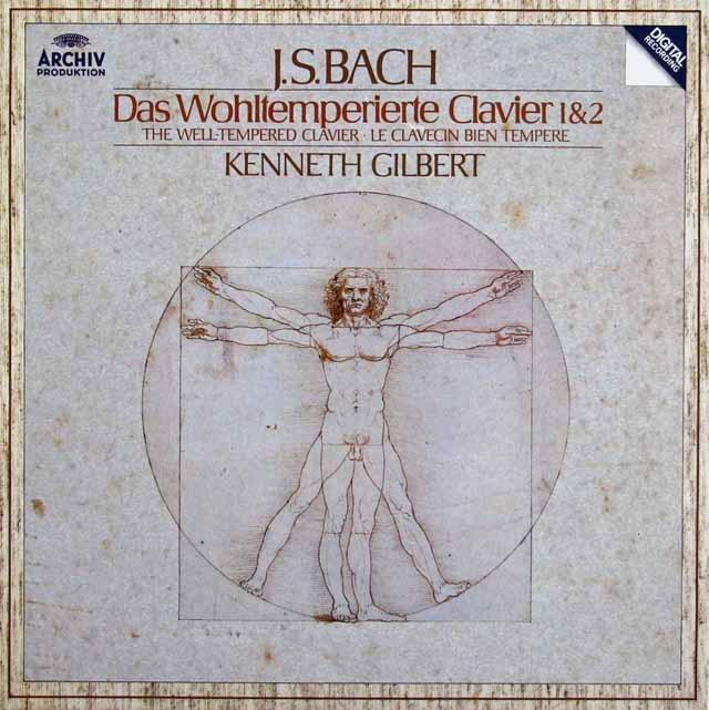 ギルバートのバッハ/平均律クラヴィーア曲集第1&2巻 独ARCHIV 3396 LP レコード