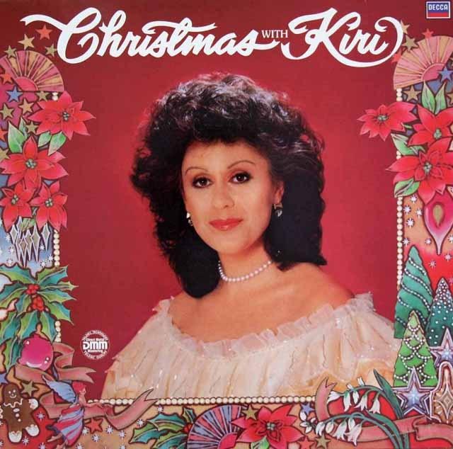 キリ・テ・カナワのクリスマス曲集 独DECCA 3396 LP レコード