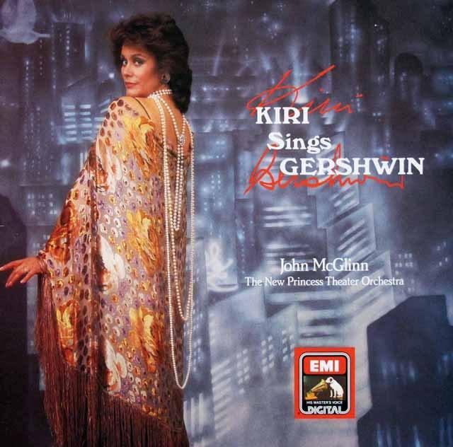 キリ・テ・カナワ/ガーシュインを歌う  独EMI 2944 LP レコード