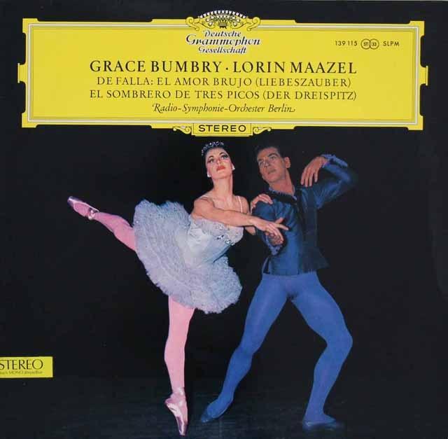 マゼールのファリャ/バレエ音楽「三角帽子」ほか 独DGG 3396 LP レコード