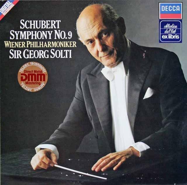 ショルティのシューベルト/交響曲第9番「ザ・グレート」 独DECCA 3396 LP レコード