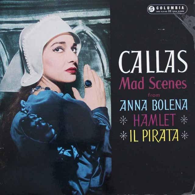【オリジナル盤】カラスの「狂乱の場」  英Columbia 2944 LP レコード