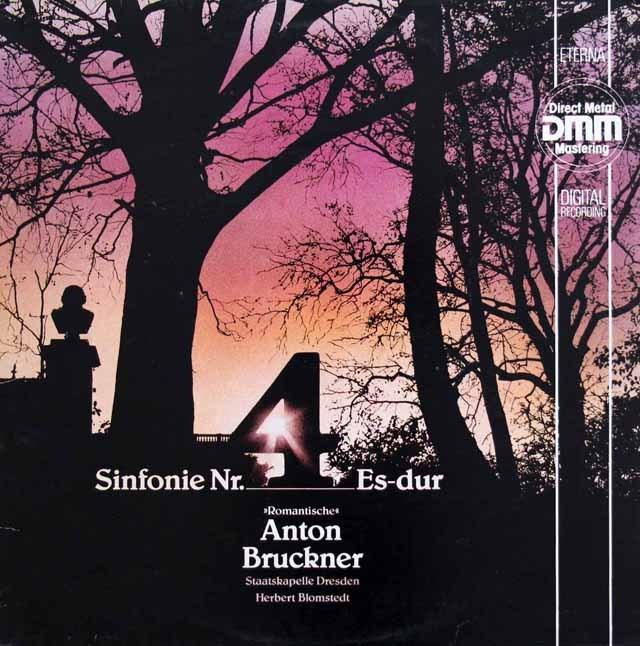 ブロムシュテットのブルックナー/交響曲第4番「ロマンティック」  独ETERNA 2945 LP レコード