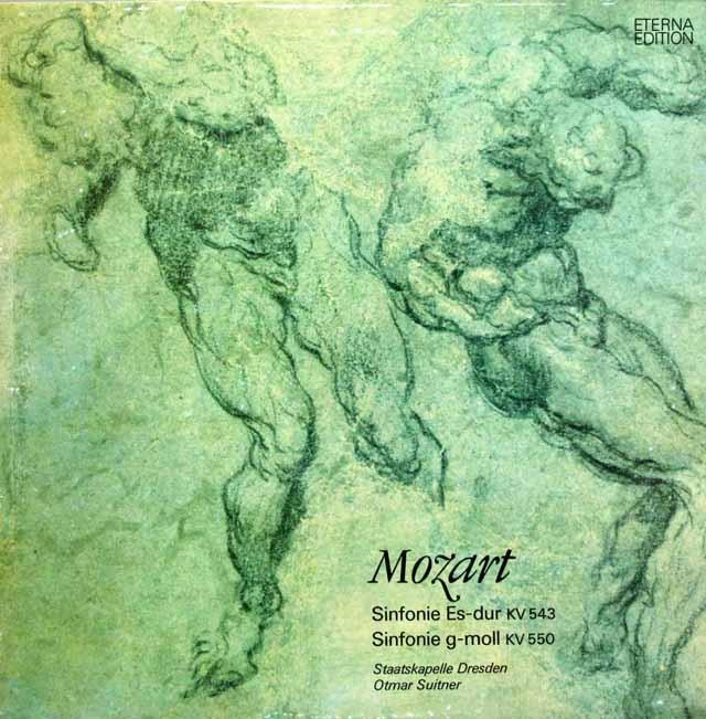 スウィトナーのモーツァルト/交響曲第39番&第40番  独ETERNA 2945 LP レコード