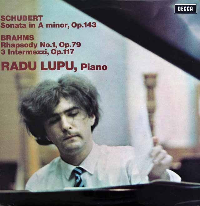【オリジナル盤】ルプーのシューベルト/ピアノソナタ14番ほか  英DECCA 2945 LP レコード
