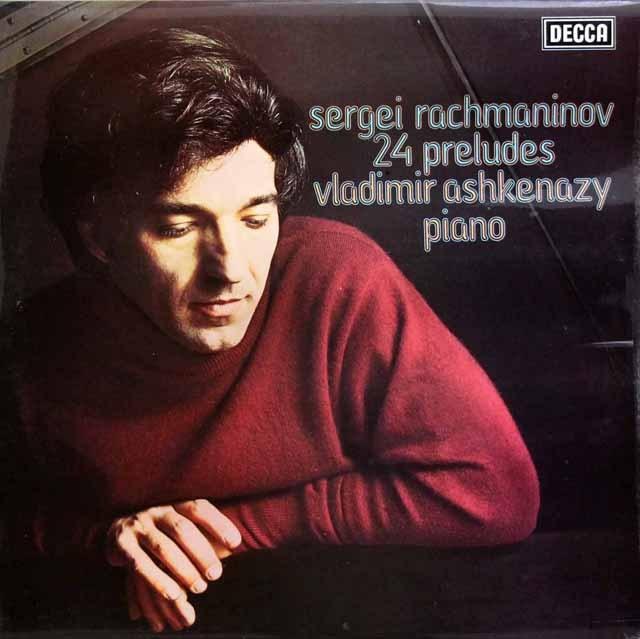 【オリジナル盤】アシュケナージのラフマニノフ/「24の前奏曲」  英DECCA 2945 LP レコード