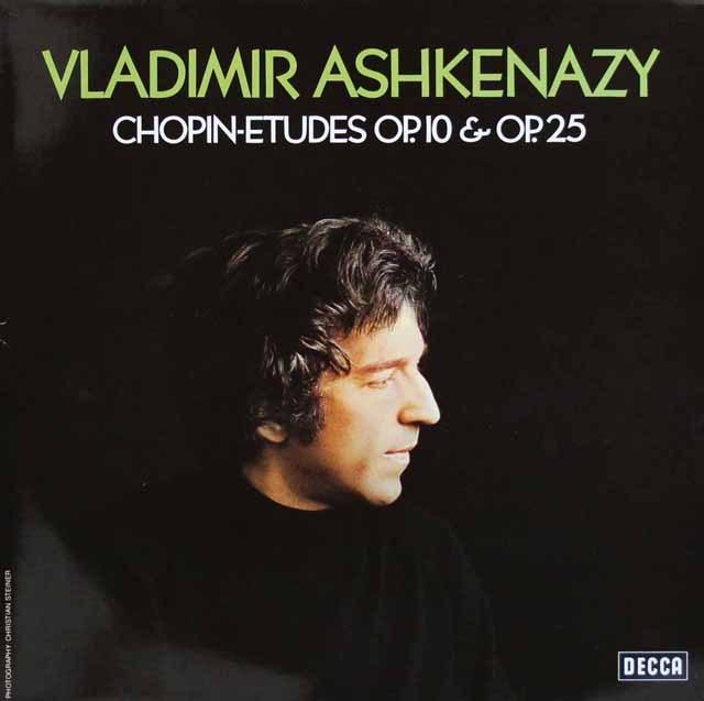 アシュケナージのショパン/練習曲集  独DECCA 2945 LP レコード